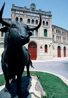 Mess with the bull...  Puerto de Santa Maria, Spain. drove by almost everyday