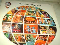 walt disneys 1963  its a small world record by OldComfortShop
