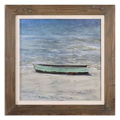 Das Boot by Grace Feyock: 31.5 x 31.5-Inch Nautical Art