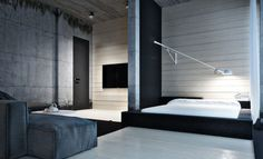Ideas For Designing Your Bedroom In An Industrial Style 5