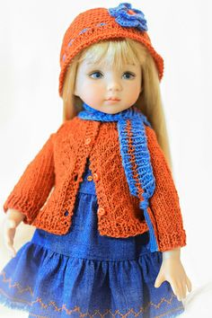 Little Darling by Dianna Effner Hannah, painted by Geri Uribe Outfit by Ursula(ebay robert8602)