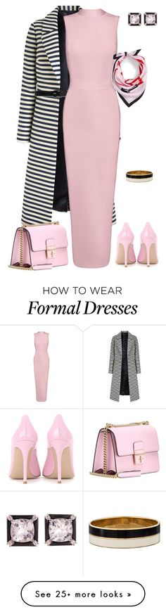 """""""outfit 3830"""" by natalyag on Polyvore featuring Gianvito Rossi, Lauren Ralph Lauren, Seaman Schepps, Dolce&Gabbana and Kate Spade"""