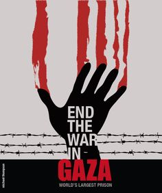 End the war in Gaza.  Both sides are suffering!