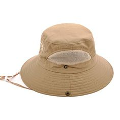 Sun Protection Bucket Fishing Hats for Men and Women Summer Outdoor SPF 50+ Boonie Cap (Khaki)  http://fishingrodsreelsandgear.com/product/sun-protection-bucket-fishing-hats-for-men-and-women-summer-outdoor-spf-50-boonie-cap/?attribute_pa_color=khaki  ★Sun Protection Hat Fabric:Washed polyester mixed with cotton,foldable and breathable lining material,super comfortable to wear.ONE Size fits most adult-Diameter(inch):8.3 inner,12.6 outer,Brim:2.9,suitableforHead circumfe