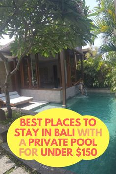 Looking for affordable villas in Bali? Bali offers so many affordable accommodation choices, that it's hard to figure out the best places to stay. The great news is that you can stay in a luxurious villa with a private pool for less than $150 per night, which is quite hard to find anywhere else in the world. Not only are the villas themselves beautiful, but the views and services they offer are surely impressive for the prices you pay.