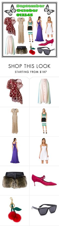 """Future Style"" by cate-jennifer ❤ liked on Polyvore featuring Simone Rocha, Peter Pilotto, J. Mendel, Prabal Gurung, Rochas, Susana Monaco, Chanel, Casadei, Anya Hindmarch and Givenchy"