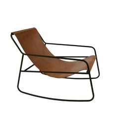 ROCKING CHAIR LEATHER - Shop Online - Cushions, Candles and Luxury Gifts