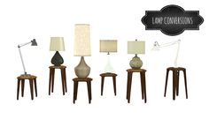 LAMP CONVERSIONS | Mio sims
