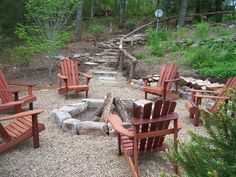 Fire Pit Sitting Area