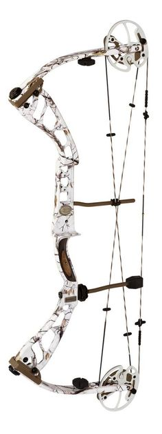 On Target Bow Wrist Sling in AP Snow Camo for compound bows