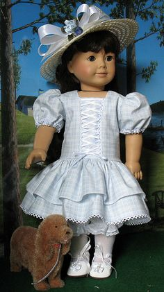 SAM IN BLUE 1 by Sugarloaf Doll Clothes, via Flickr