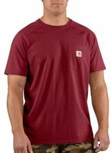 Carhartt Men's Force Cotton Short-Sleeve T-shirts