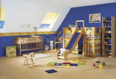 Looking for a Paint Ideas For Children's Bedrooms. We have Paint Ideas For Children's Bedrooms and the other about Play Kids it free. Little Boy Bedroom Ideas, Boy Toddler Bedroom, Cool Kids Bedrooms, Kids Bedroom Sets, Kids Rooms, Childrens Bedroom, Trendy Bedroom, Kids Bedroom Paint, Kids Bedroom Furniture