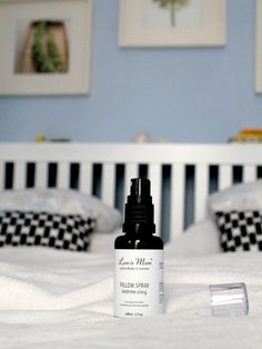 Vegan cosmetics for the bedside table | Less is More PILLOW SPRAY *ONCE UPON A CREAM | Vegan Beauty Blog*