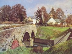 James McIntosh Patrick The Old Toll Signed Limited Edition Print | Scottish Contemporary Art