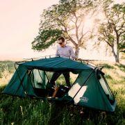 K& Rite Oversize Tent Cot & Kamp Rite Compact Tent Cot Standard   Camp Tent u0026 Shelter ...