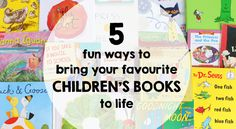 5 Ways To Bring Children's Books To Life | Play | CBC Parents