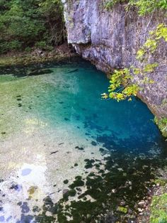 Ha Ha Tonka State Park near Lake of the Ozarks in missouri