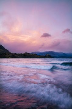 Sunset at Lake Wanaka - New Zealand