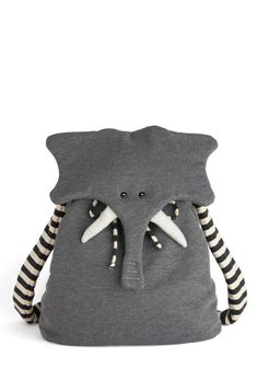 Back Pachyderm. I love this backpack! And how can you resist it when it's this cute? (Plus the name is adorable. I love how ModCloth always puts puns in their product names.)