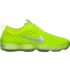Nike Women's Zoom Fit Agility Training Shoe - Volt | DICK'S Sporting Goods