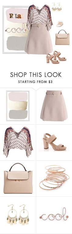 """Untitled #587"" by skatiemae ❤ liked on Polyvore featuring Chicwish, Lady Godiva, MANGO, Red Camel and Umbra"