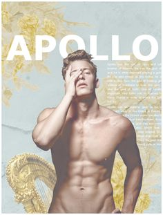 Apollo, god of music, sun and prophecy