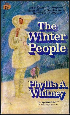 """The Winter People by Phyllis A Whitney. She moved me from kids' books into more """"grown up"""" reading."""