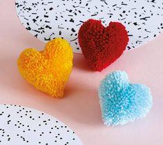 Pom Pom Love Hearts