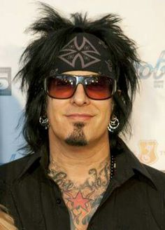 Nikki Sixx from Motley Crue. Had a big crush on him years ago