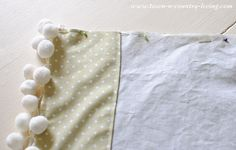 How to sew your own pillow cases to create custom bedding