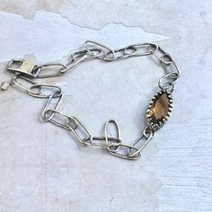 Working on a few custom stuff right now and this vintage chic smokey quartz bracelet is one of them