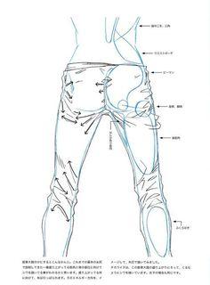 Drawing pants