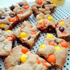Reese's Pieces Peanut Butter Blondie's
