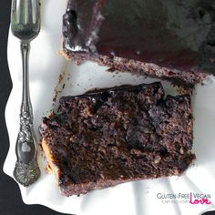 Vegan Gluten-Free Triple Chocolate Banana Bread {Refined Sugar-Free}