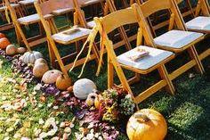 Fall wedding ideas! :  wedding Ceremony Isle