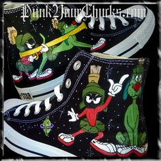 looney tunes converse marvin the martian