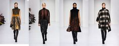 Salvatore Ferragamo FW14-15 Women Collection. #runways #fashion Emperors New Clothes, New Outfits, Salvatore Ferragamo, Kimono Top, Women Wear, Runway, Collection, Tops, Fashion