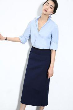 格调高品超级有范运动CHIC 直身半裙 W10238 D家-淘宝网