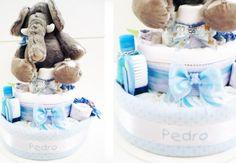 Decoração: ideias de bolo de fraldas para o chá de bebê. Inspire-se!