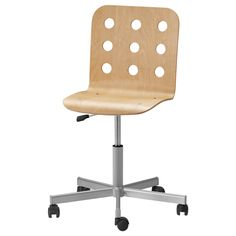 JULES  Swivel chair, birch, silver color  $39.99  The price reflects selected options  Article Number:998.845.39