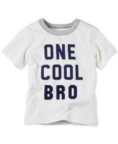 Carter's Little Boys' One Cool Bro T-Shirt