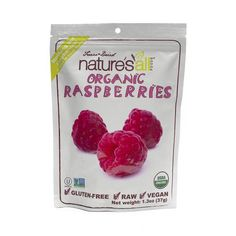Organic Freeze Dried Raspberries by Nature's All Foods - Thrive Market