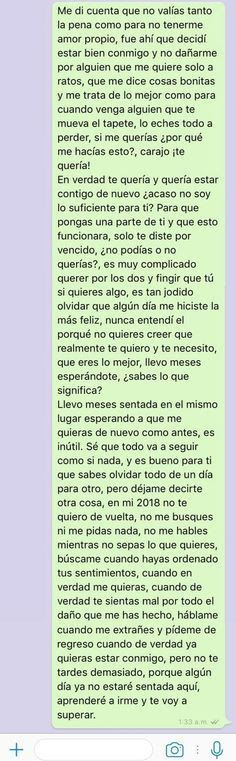 Citas Kittens kittens near me Sad Quotes, Love Quotes, Ex Amor, Getting A Kitten, Quotes En Espanol, Just For You, Love You, Sad Love, Spanish Quotes