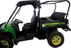 John Deere Gator Back Seat and Roll Cage Kit (Kit + 2 Accessories + FREE Shipping)