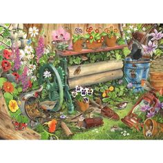 Robins Nest Jigsaw Puzzle from Jigsaw Puzzles Direct - Order today and Get Free Delivery