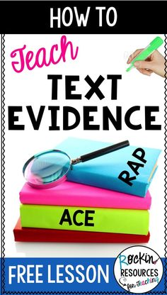 How to Teach Text Evidence- Awesome post to teach students how to cite evidence within text using prior knowledge, inferring, highlighting, paraphrasing, and quoting.