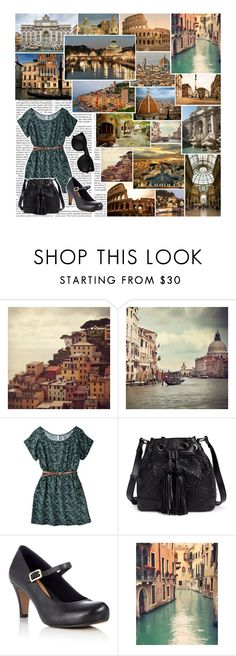 """""""Stand back as your world decays!"""" by holly-violet ❤ liked on Polyvore featuring Nicki Minaj, Cinque, Elliott Lucca, Clarks, Karen Walker and Fountain"""