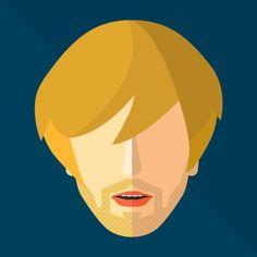 31.flat illustration website / Colourful, engaging & simplistic