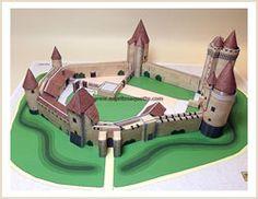 Maquette du chateau fort de Blandy-les-Tours
